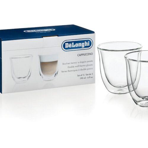 DeLonghi cappuccino klaasid 2-ne komplekt