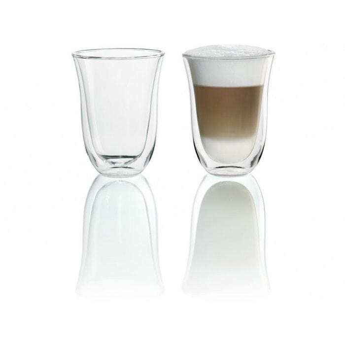 DeLonghi latte macchiato klaasid 2-ne komplekt