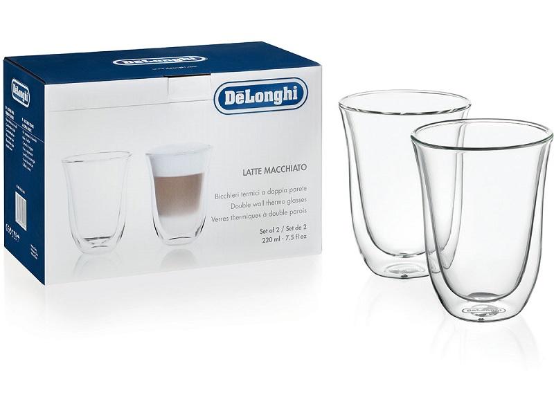 DeLonghi latte macchiato klaasid, 2-ne komplekt