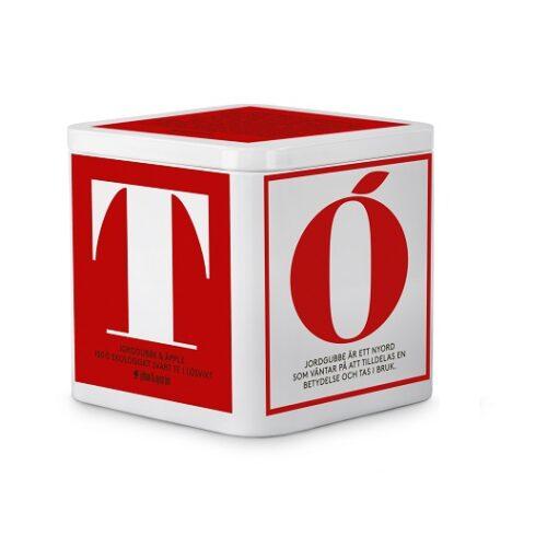 T-Te maasikate ja õuntega mahekasvatatud 150g