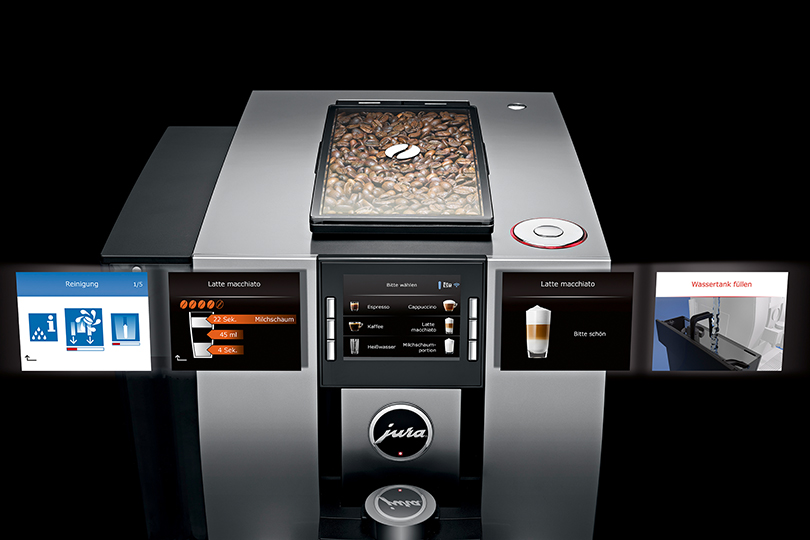 Jura-Z6-Espressomasin-ekraan
