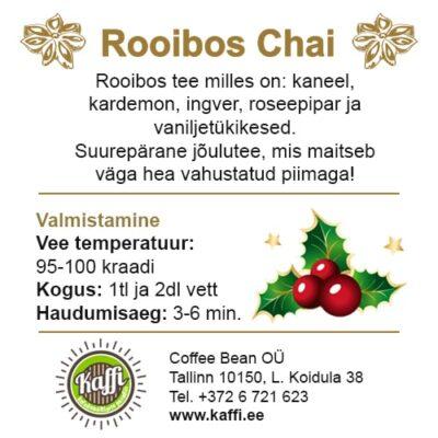 Rooibos Chai 50g