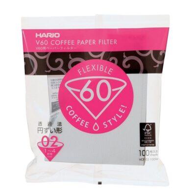 Hario V60 paberfiltrid Misarashi 02