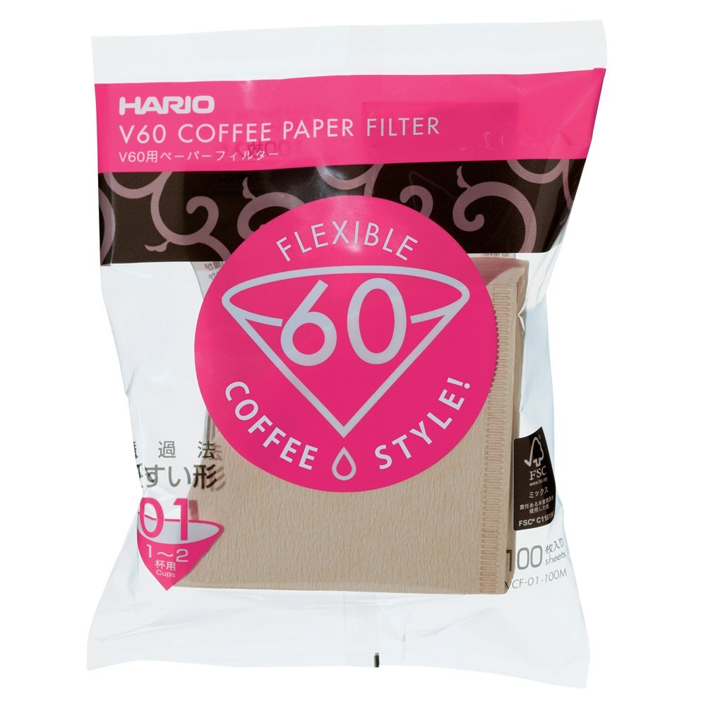 Hario V60 paberfiltrid Misarashi 01