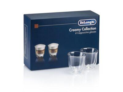 DeLonghi cappuccinoklaasid 6-ne komplekt