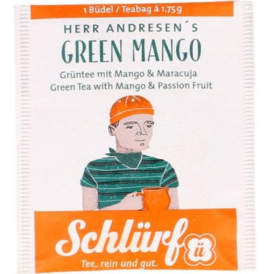 Herr Anderseni puuviljane roheline tee
