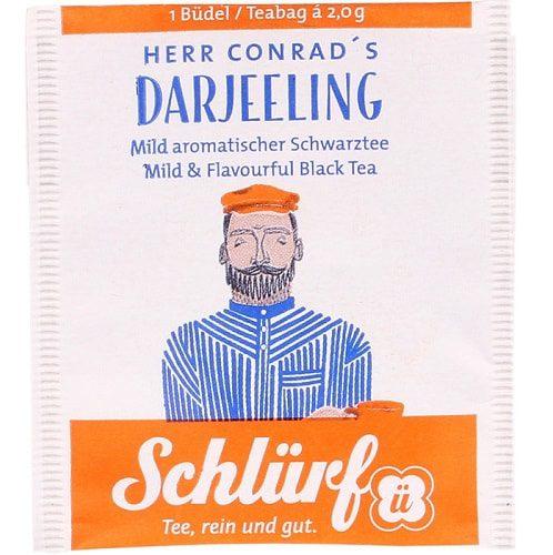Herr Conradi Darjeeling must tee