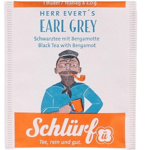 Herr Everti Earl Grey must tee