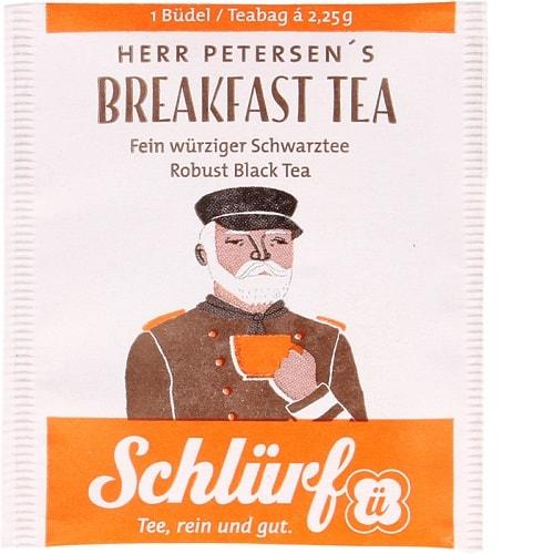 Herr Peterseni English Breakfast must tee