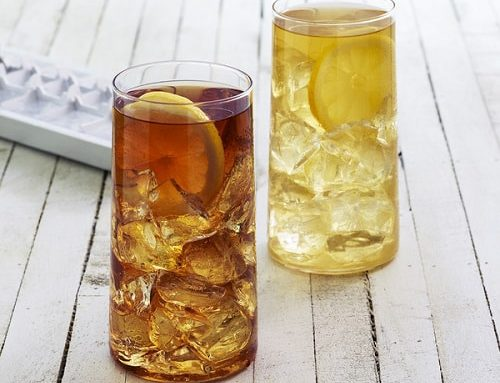 Sidruni jäätee