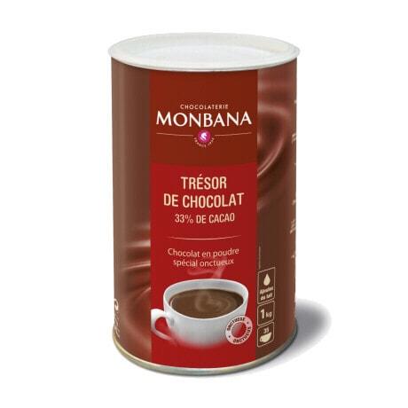 Monbana Trèsor kuum šokolaad 1kg