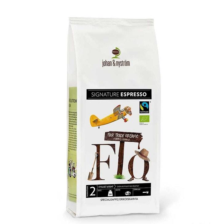 Mahekasvatatud FTO Espresso 500g