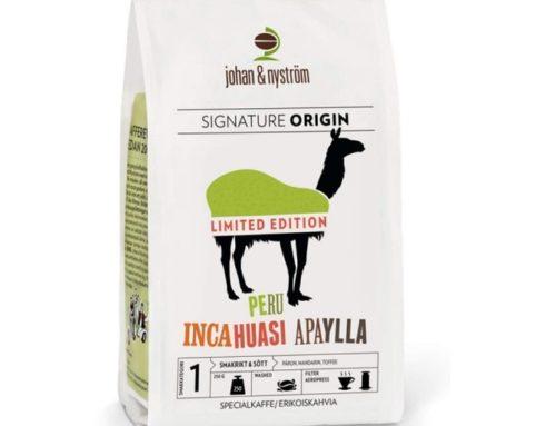 Peru Incahuasi Apaylla kohvioad