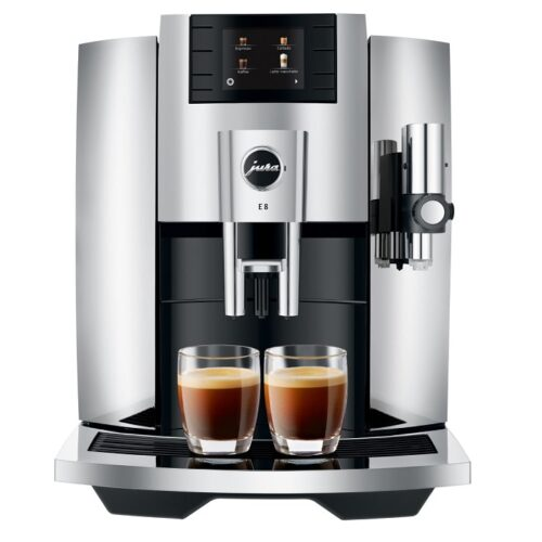 JURA E8 Chrome Espressomasin