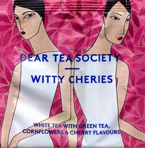 Witty Cheries valge tee