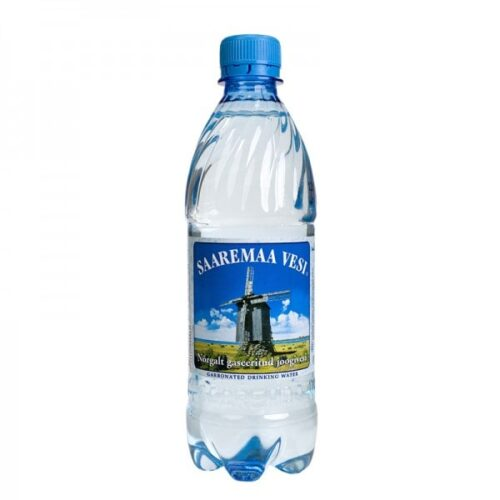 Saaremaa vesi nõrgalt gaseeritud 0,5L