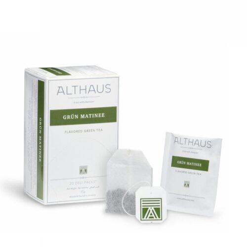 Althaus Grün Matinee roheline tee