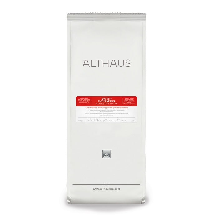 Althaus Sweet November taimetee 250g