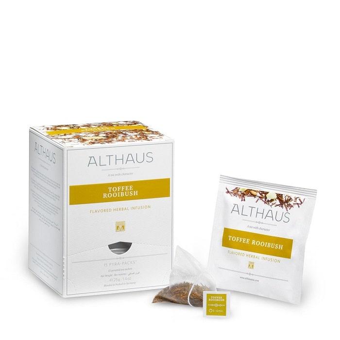 Althaus Toffee Rooibos taimetee